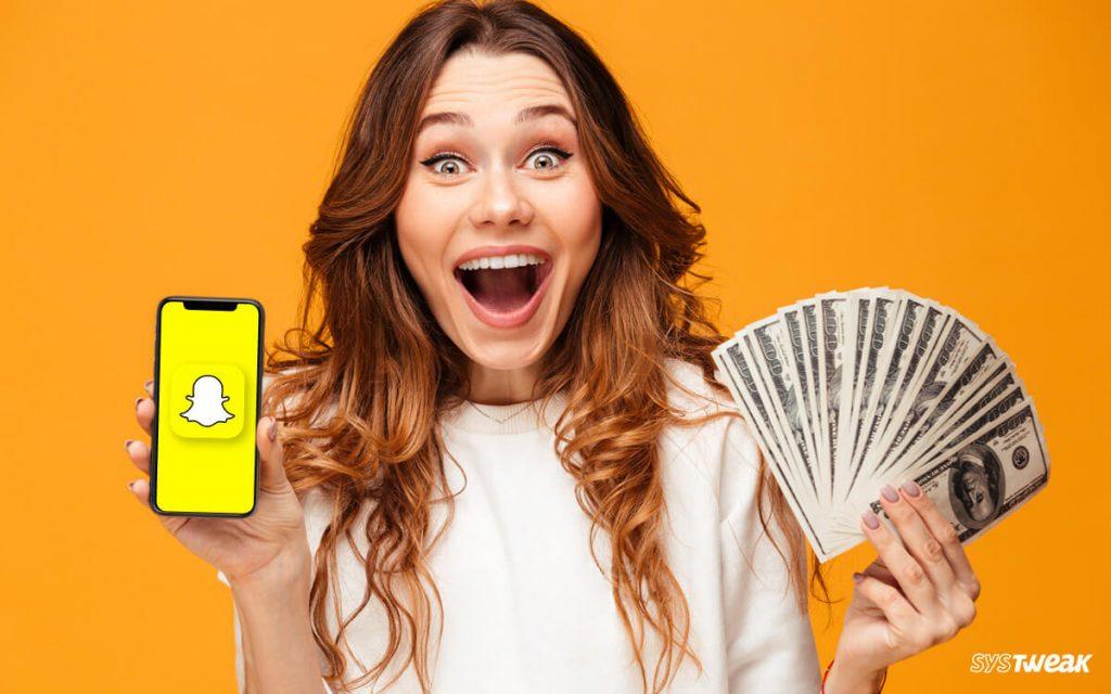 Snapchat ile Para Kazanmak