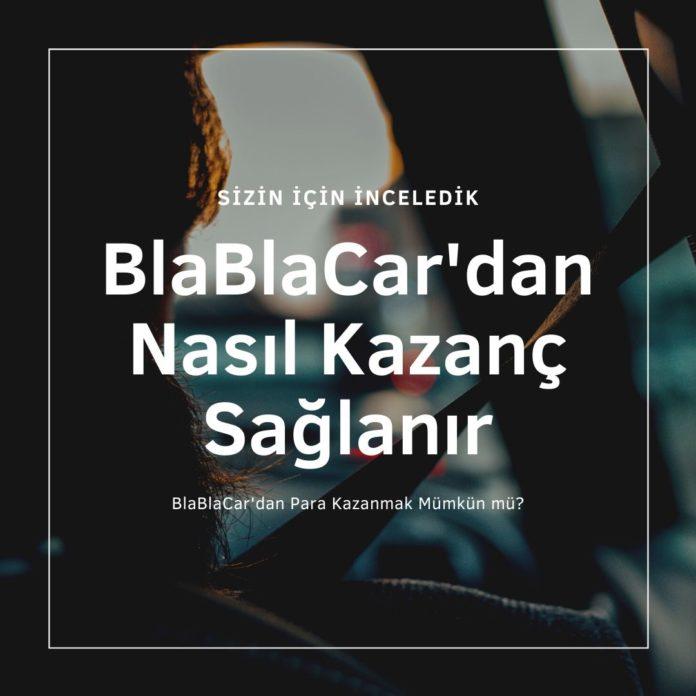 BlaBlaCar'dan Para Kazanmak